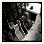 Guitars in the studio